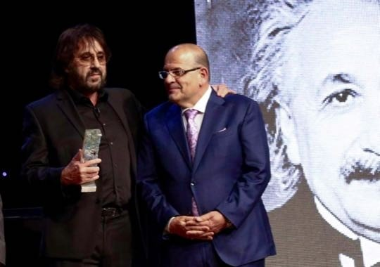 Einstein Gala - Key of Knowledge Award